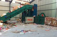 Straw baler, waste paper baler, plastic baler, pet bottle baler, packing machine