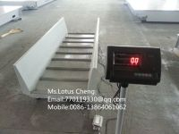 Animal weighing scale, livestock weighing scale, pig weighing scale, chute scale