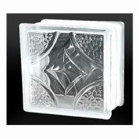 Lattice Pattern Glass Block