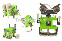 4 in 1 assembly diy robot toy