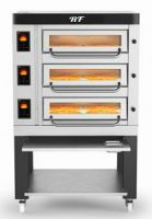 Tripple deck electric pizza oven