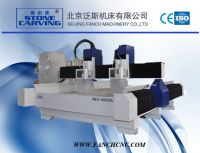 Two Heads Stone CNC Engraving Machine