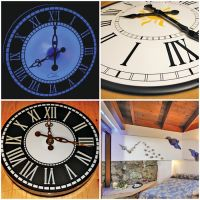 Large luxury wall clocks