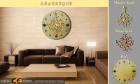 ARABESQUE CLOCK