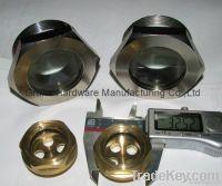 fused window sights, fused sight glass, fused oil sight gauge