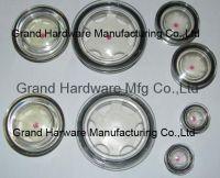 Fluid level sight glass, oil sight glass, sight gauge, sight wind
