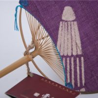 Bamboo Hand Fan With Cloth