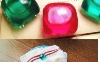 25g star shape apply to all clothes laundry liquid pods with natural fragrance.