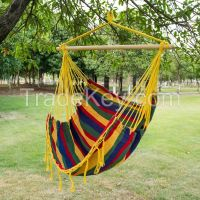 Outdoor folding hanging fabric camping hammock chair