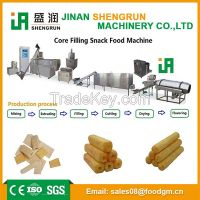 Core filling snack/puffed leisure food production line