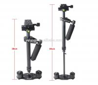 Yelangu 2016 popular Portable Camera Stabilizer S60N with 60cm Adjustable Aluminium Rods, support DV, HDV, DSLR Camera