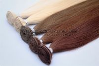 100% Unprocess Natural Human Weft Hair Wholesale