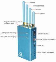 High Power Portable GPS (GPS L1/L2/L3/L4/L5) Jammer
