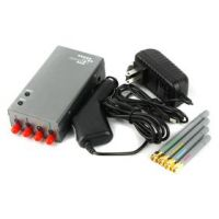 5 Band Portable Cell Phone and GPS Jammer