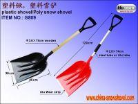 heavy duty plastic snow shovel(G809)