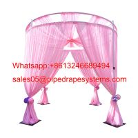 Adjustable Pipe and Drapes Wedding Party Exhibition Photo Trade Show Event Curtain Backdrop