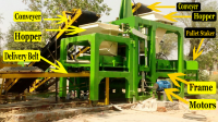 03014991112 Tuff tile paver concrete block making machine in pakistan new used batching plant