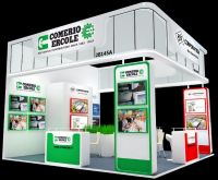 48 square meters special design booth