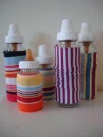 Multi color Glass Bottle Cover