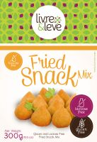 Gluten and Lactose Free Fried Snack Mix