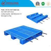 Heavy Duty Deck Rackable Rack Pallet Plastic Pallet (ZG-1311 4 steels)