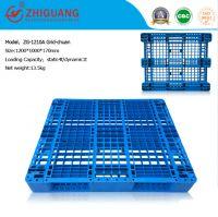 Warehouse Storage High Duty 4 Way Grid Plastic Pallet (ZG-1210A)