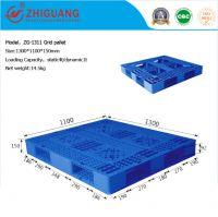 Double Sides Wholesale 100% Virgin HDPE Export Nestable Plastic Pallet