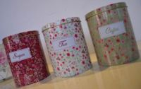 3pcs of round canister set