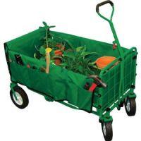 folding garden wagon cart