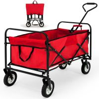 folding wagon cart multi-function tool cart