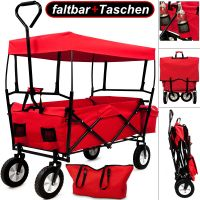 folding garden wagon cart