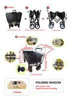 foldable shopping cart , children baby trolley