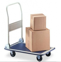 cargo transport trolley platform 4 wheel hand truck PH150