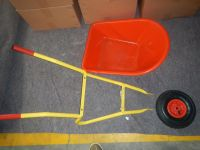 plastic kids garden tools wheelbarrow WB0208