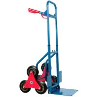 six wheel climbing stairs hand trolley  cargo transport trolley HT2086A