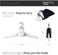 2016 winter hot sale smartfrog portable 2-in-1 Cloth & Shoes Fast Drying Hanger