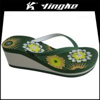 Summer fashionable outdoor durable eva slipers women flip flops