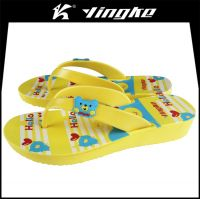 Summer garden custom logo eva cheap slippers flip flops 2017 for woman
