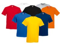Round Neck 100% Tshirts in different colors and sizes