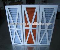 china supply industrial hepa board air filter cartridge