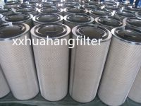 hot sale dust collection air filter cartridge with galvanized end caps