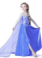2015 Latest Frozen Anna And Elsa Dress