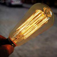 LED Bulb Light Ampoule Vintage ST64 E27 2W 4W 6W 8W Led Edison Bulb 40W 60W Lumiere Led Lamp 220V Energy Saving Lights for Home