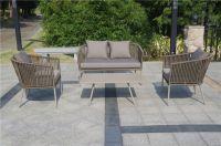 Furniture Luxury Bitta Sofa Products Fiber Rope Furniture Weaving Tape Sofa Chairs