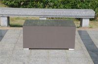 Garden Furniture Aluminium Sling Sofa for French market