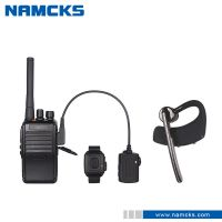 2016 new product walkie talkie wireless headset