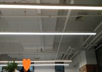 LED Linear Low Bay Light Line Connection Surface Mounted Lighting