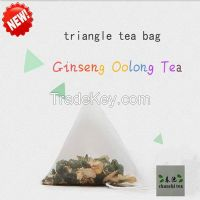 Chunchi Green Food Triangle Bag Ginseng Oolong Tea Bag 15 Bags / Box