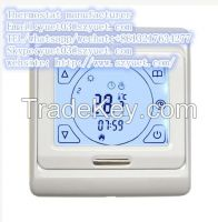 16A thermostat for floor heating China factory wholesale