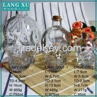 decorative glass skull mason jars